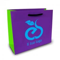 Shopper Lusso|F.to cm 34+16x65|3 Colori