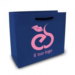 Shopper Lusso|F.to cm 36+22x41|2 Colori