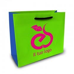 Shopper Lusso|F.to cm 36+13x43|3 Colori