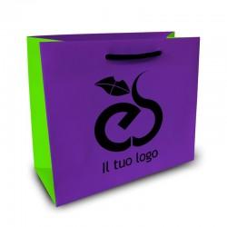 Shopper Lusso|F.to cm 38+10x43|3 Colori