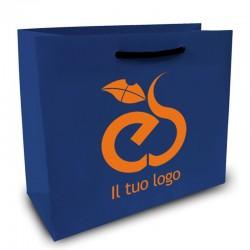 Shopper Lusso f.to cm 40+15x34 2 Colori