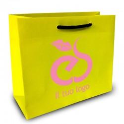 Shopper Lusso|F.to cm 40+20x30|2 Colori