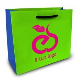 Shopper Lusso|F.to cm 40+20x30|3 Colori