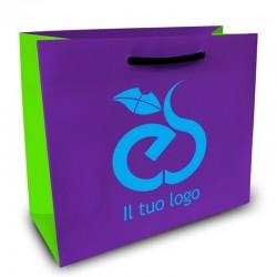 Shopper Lusso|F.to cm 42+12x50|3 Colori