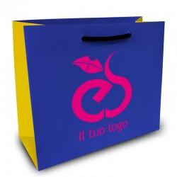 Shopper Lusso|F.to cm 42+15x28|3 Colori