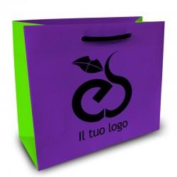 Shopper Lusso|F.to cm 43+13x46|3 Colori