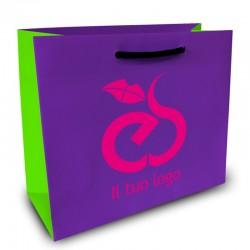 Shopper Lusso|F.to cm 45+10x45|3 Colori