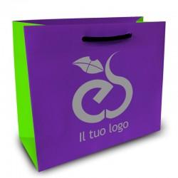 Shopper Lusso|F.to cm 45+13x43|3 Colori