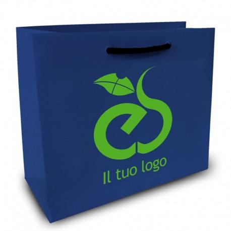 Shopper Lusso f.to cm 50+22x54 2 Colori