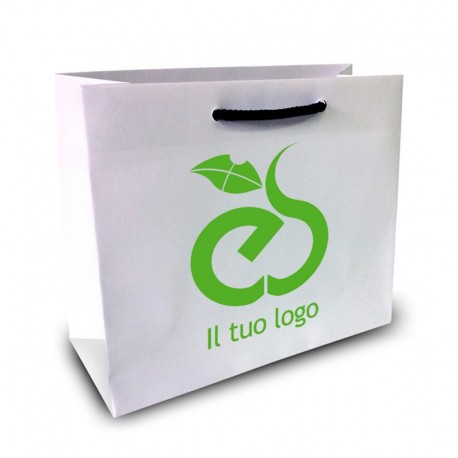Shopper Lusso f.to cm 32+16x40 1 Colore