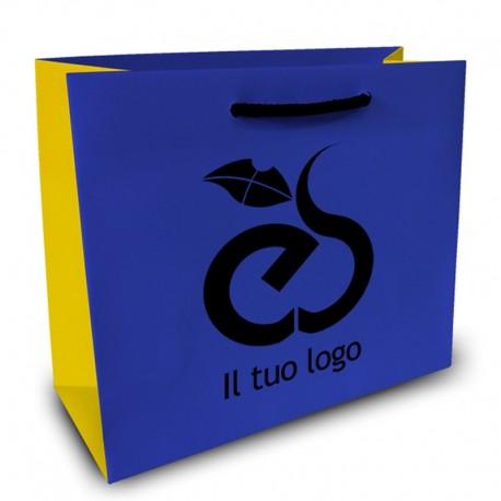Shopper Lusso f.to cm 50+22x54 3 Colori