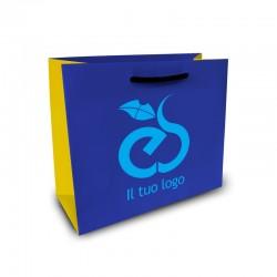 Shopper Lusso f.to cm 11+5x28 3 Colori