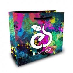 Shopper Lusso f.to cm 32+18x25 4 Colori