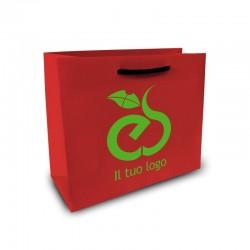 Shopper Lusso|F.to cm 11+5x28|2 Colori