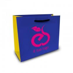 Shopper Lusso|F.to cm 18+8x20|3 Colori