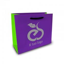 Shopper Lusso|F.to cm 20+12x15|3 Colori
