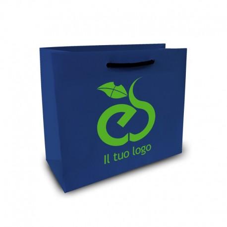 Shopper Lusso f.to cm 13+9x18 2 Colori