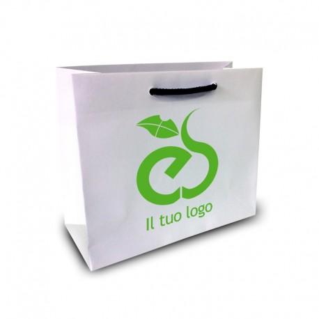 Shopper Lusso f.to cm 13+9x18 1 Colore