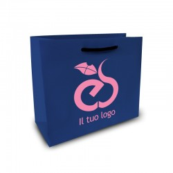 Shopper Lusso|F.to cm 20+12x15|2 Colori