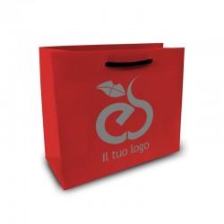 Shopper Lusso|F.to cm 22+10x27|2 Colori