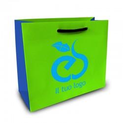 Shopper Lusso|F.to cm 30+20x25|3 Colori