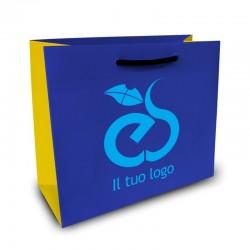 Shopper Lusso f.to cm 30+22x30 3 Colori
