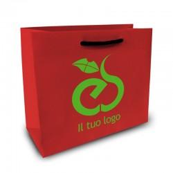 Shopper Lusso|F.to cm 32+12x41|2 Colori