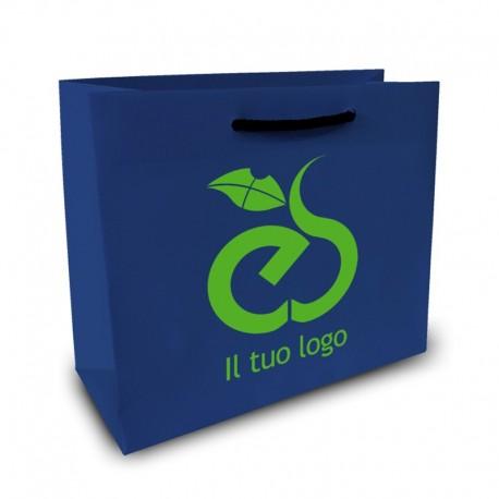 Shopper Lusso f.to cm 32+16x40 2 Colori