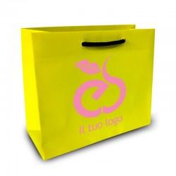 Shopper Lusso|F.to cm 32+16x40|2 Colori