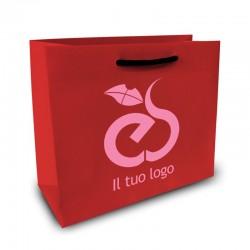 Shopper Lusso|F.to cm 34+16x65|2 Colori