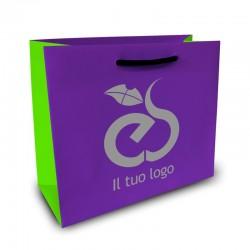 Shopper Lusso|F.to cm 32+12x41|3 Colori