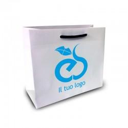 Shopper Lusso|F.to cm 22+10x27|1 Colore